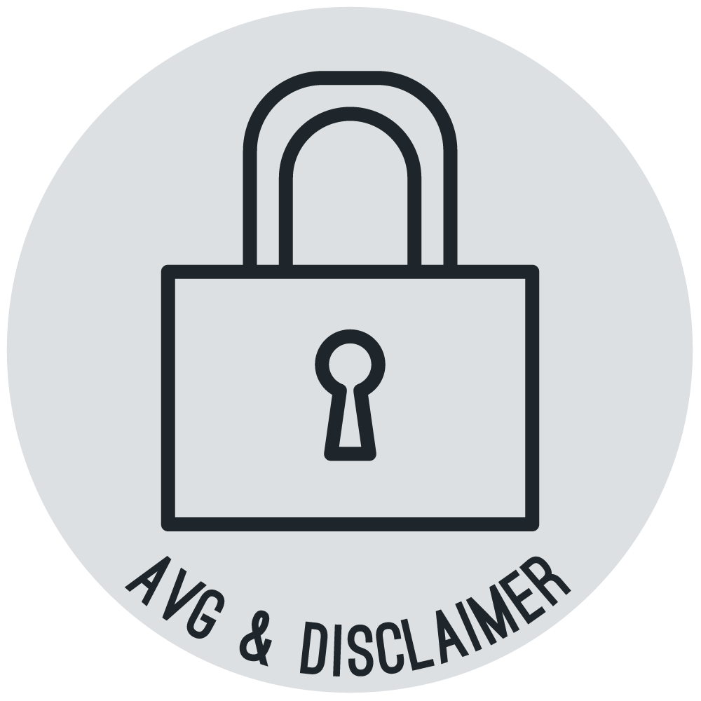 AVG & Disclaimer Icoon