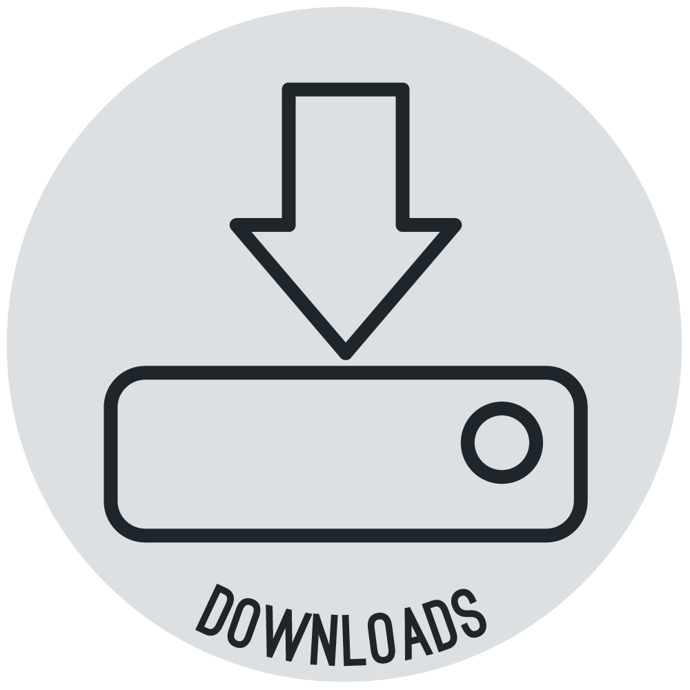 Downloads Icoon