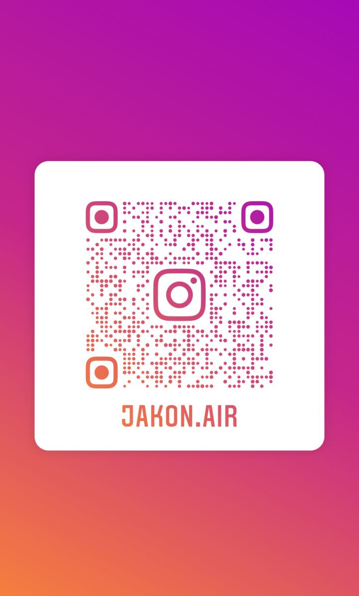 QR code Jakon Air Instagram