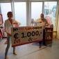 Mooi bedrag van 1000 euro voor Stichting Manna van NH1816 Verzekeringen en Lucas Assurantie