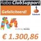 Prachtig bedrag Rabo Clubsupport voor Manna