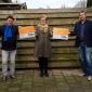 Ivonne Stege in actie voor de voedselbank