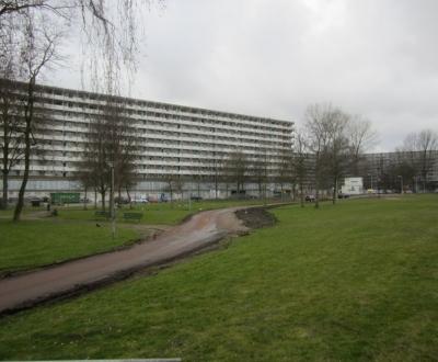 Afbeelding bij Galerij en bordes coating Kleiburg flat Amsterdam