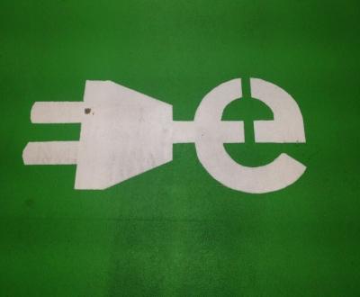 Vloercoating groene parkeervakken Hilversum