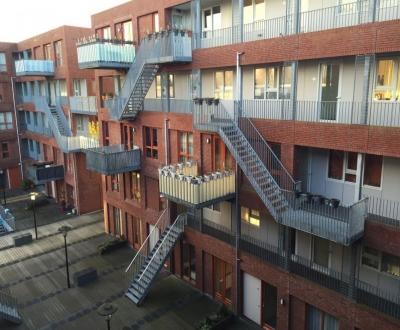 Afbeelding bij Galerij/balkon isoleren complex Lupine Rotterdam