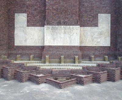 Afbeelding bij Afdichting fontein Belgen monument Amersfoort