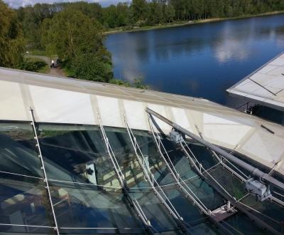 Afbeelding bij Triflex glas/dakafdichting Vork & Mes Paviljoen