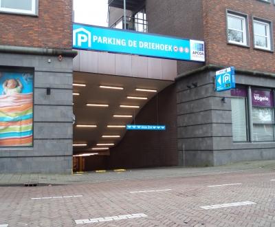 Garage vloercoating PG De Driehoek Oldenzaal