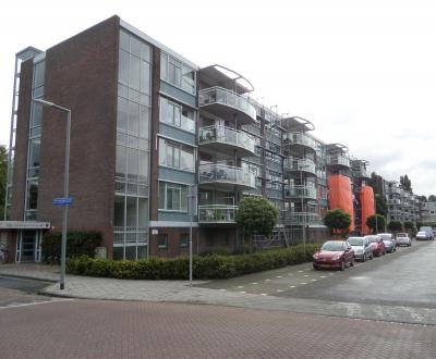 Afdichting balkonvloeren complex West Vlaardingen