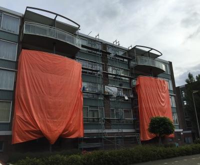 Afbeelding bij Afdichting balkonvloeren complex West Vlaardingen