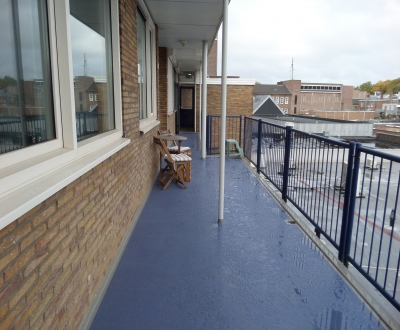 Afdichting galerijen + balkons VvE Nieuwe Markt
