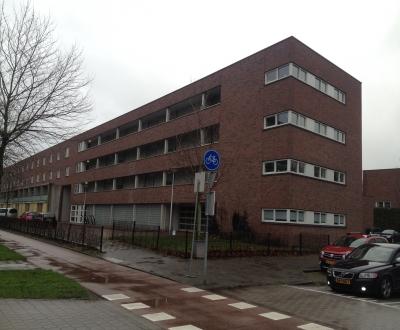 Galerij antislip coating VvE Eykmanhof Utrecht