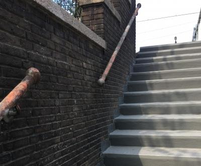 Afbeelding bij Renovatie betontrap Enschede