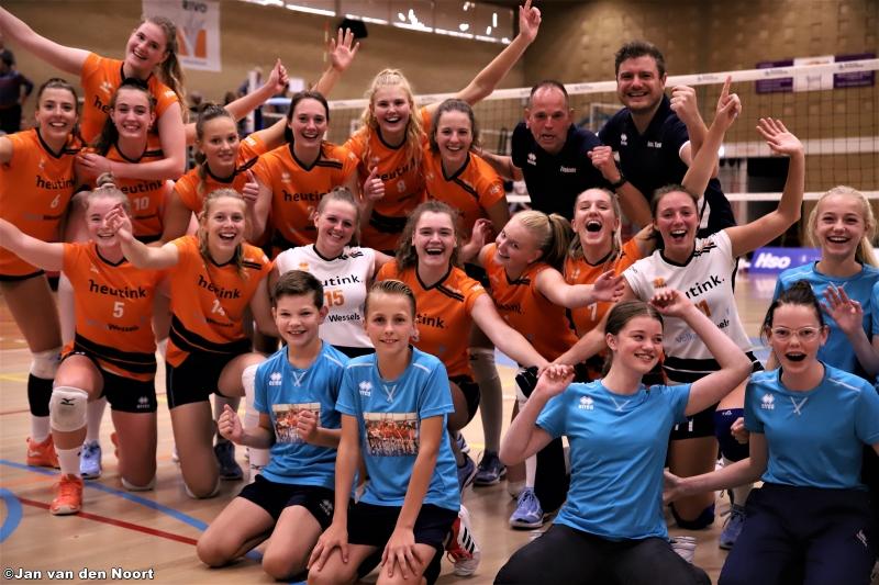 Rivo D1 - VC Zwolle D2 18-09-2021