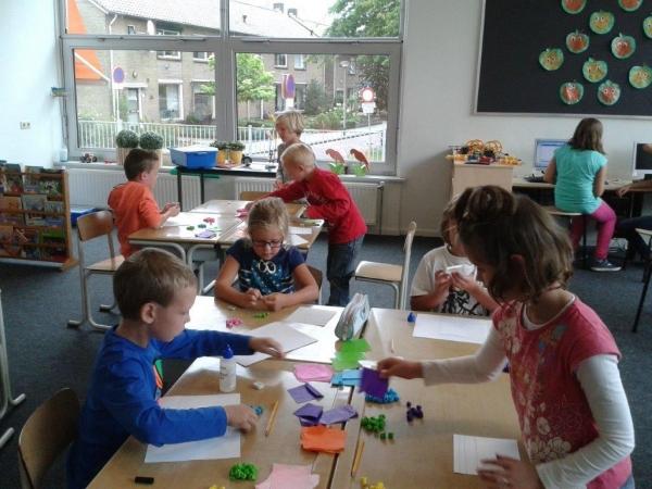 Foto bij Lekker bezig in de groep