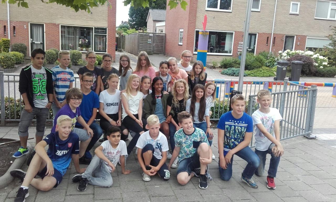 Foto bij Afscheid groep 8