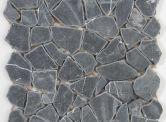 Goedkope tegel: Mozaiek Flagstone Black 30,5 x 30,5