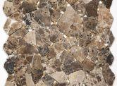 Goedkope tegel: Mozaiek Flagstone Brown 30,5 x 30,5