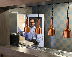 Nieuwe inrichting restaurant
